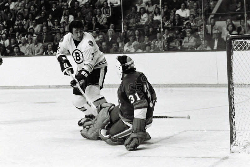 Download Phil Esposito editorial stock image. Image of game, players - 21169184