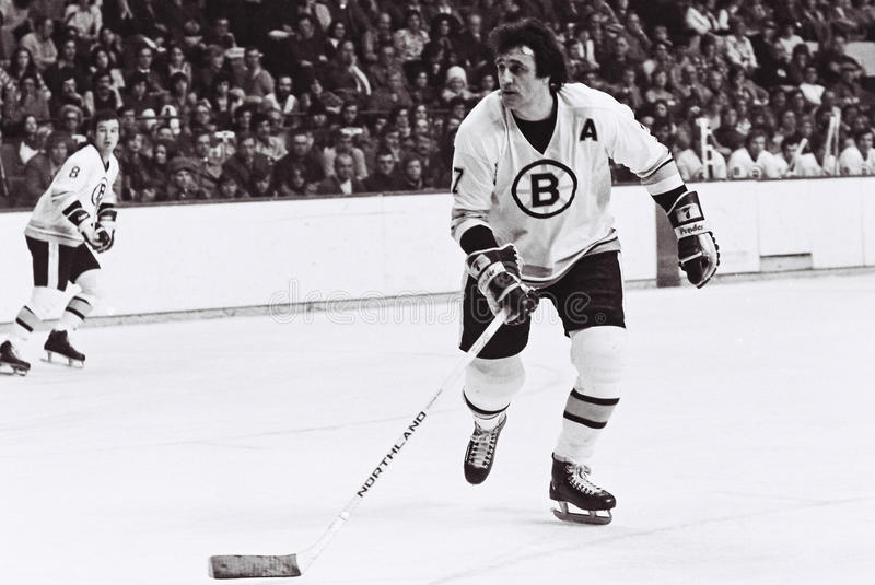 Download Phil Esposito Boston Bruins Imagem Editorial - Imagem: 27968295