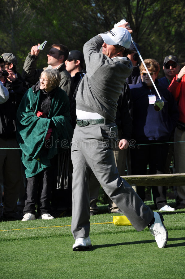 Download Phil Mickelson At The 2009 Masters Editorial Stock Photo - Image: 8901618
