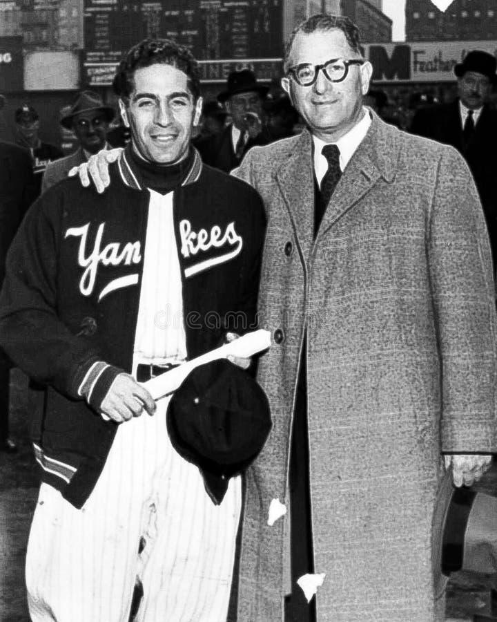 Phil Rizzuto New York Yankees imagens de stock