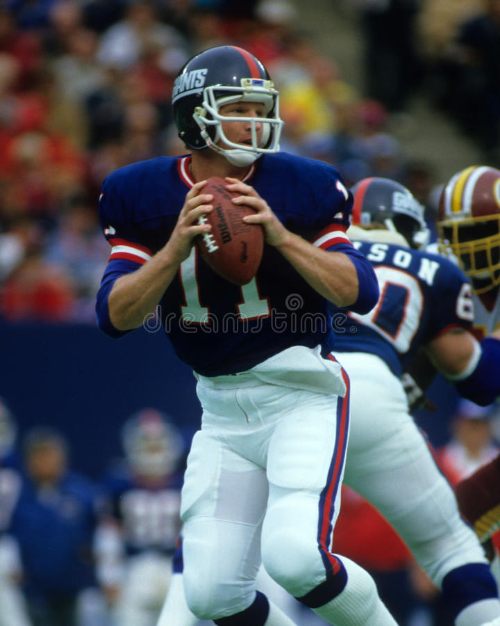 Phil Simms fotos de stock