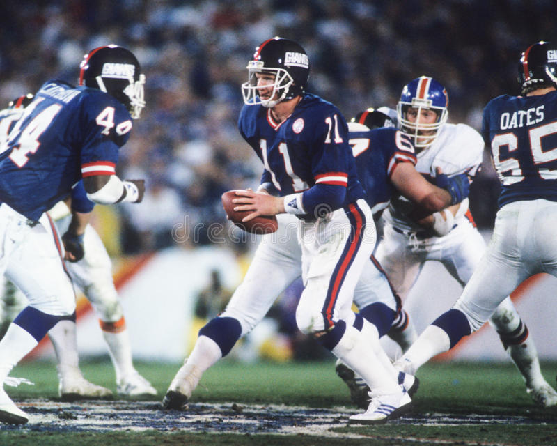 Phil Simms foto de stock