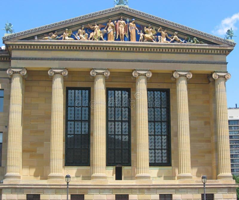 Philadelphfia, museu de arte imagem de stock royalty free