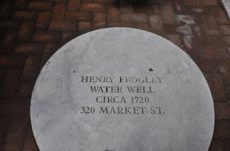 Philadelphia, 4 Augustus: Oude Waterput van Philadelphia in Pennsylvania royalty-vrije stock foto's