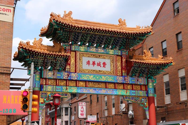 Philadelphia Chinatown fotografía de archivo libre de regalías