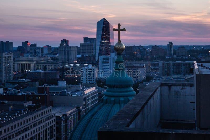 Philadelphia city royalty free stock photography