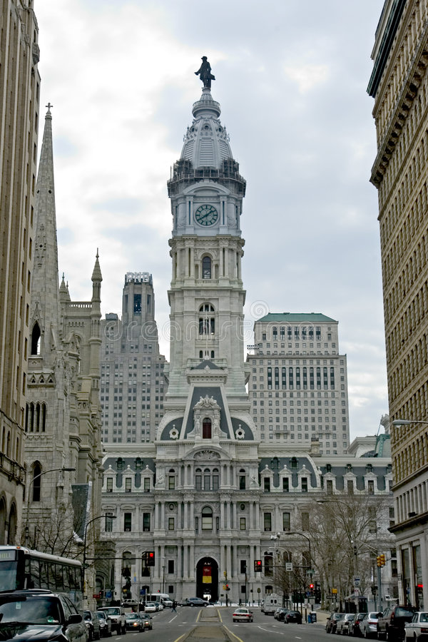 Free Philadelphia City Hall Stock Photography - 1648482