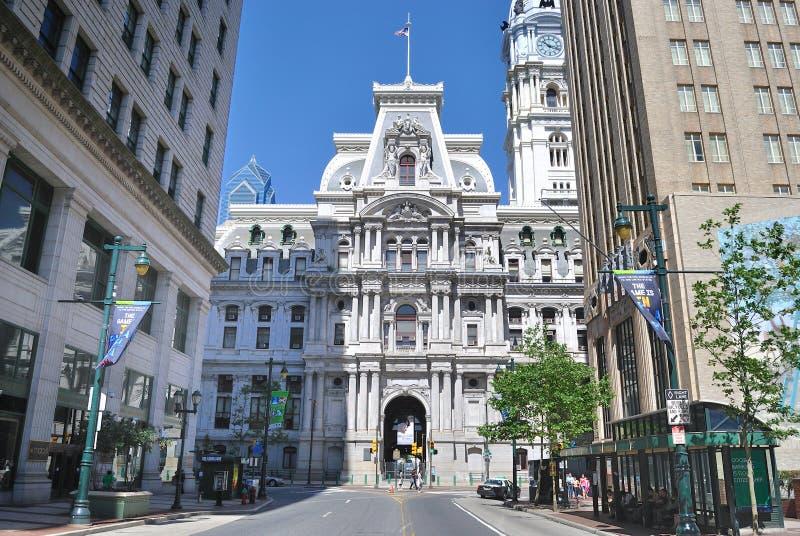 Download Philadelphia City Hall editorial image. Image of thoroughfare - 16543360