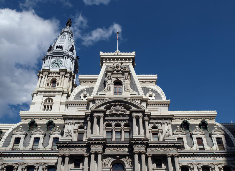 Download Philadelphia City Hall stock image. Image of architecture - 17267333