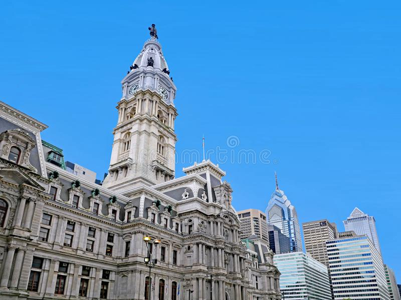 Philadelphia City Hall royalty free stock image