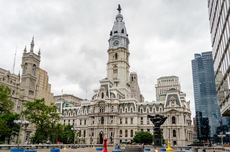 Philadelphia City Hall Royalty Free Stock Images