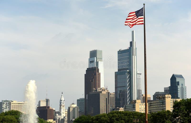 Philadelphia cityscape, PA, USA. Philadelphia view royalty free stock photo