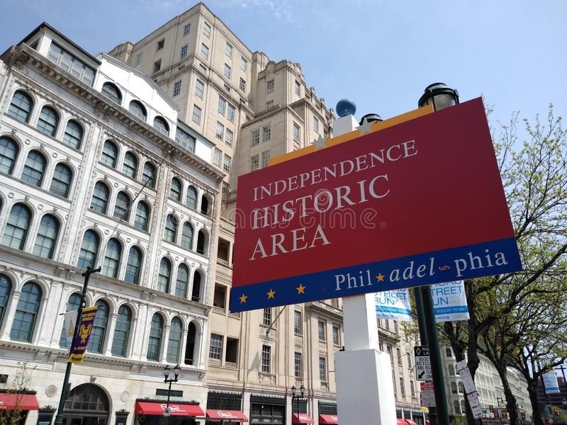 Philadelphia Independence Historic Area, Pennsylvania, USA stock images