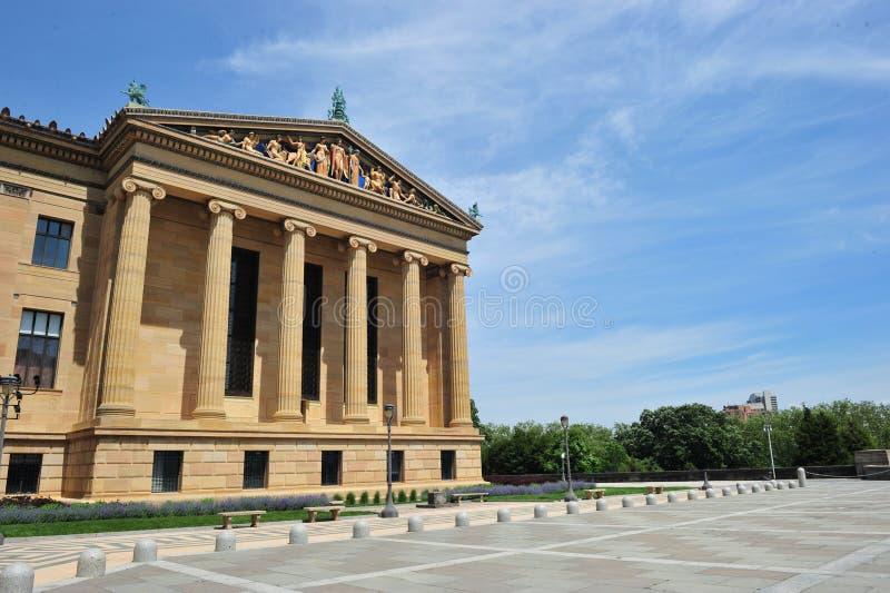 Philadelphia konstmuseum royaltyfri bild