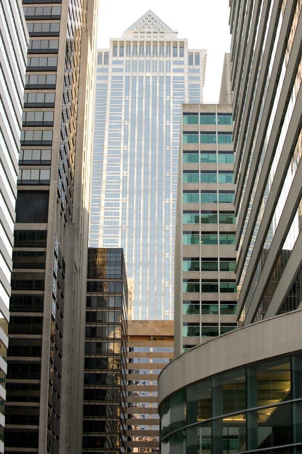 Philadelphia office buildings stock photography