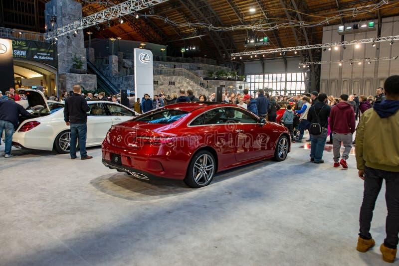 PHILADELPHIA PA - Februari 3: Lexus på Philadelphia den auto showen 2018 arkivbild