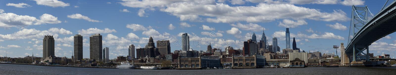Philadelphia (panoramic) royalty free stock images