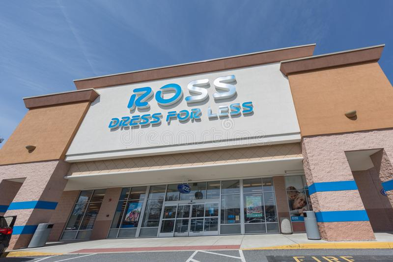 Ross Dress For Less store exterior. royalty free stock image