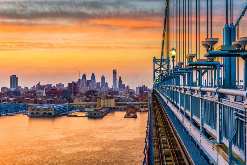 Philadelphia Pennsylvania, USA arkivbilder