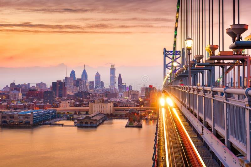 Philadelphia Pennsylvania, USA fotografering för bildbyråer