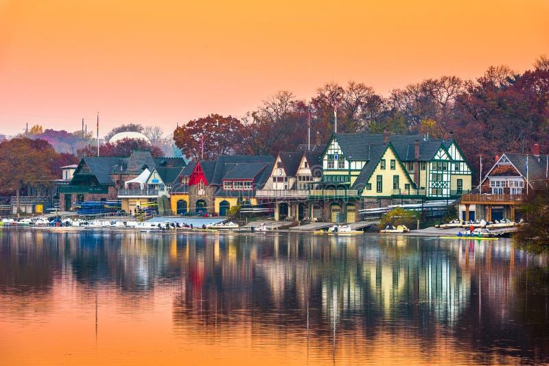 Philadelphia Pennsylvania, USA sjöbodrad fotografering för bildbyråer