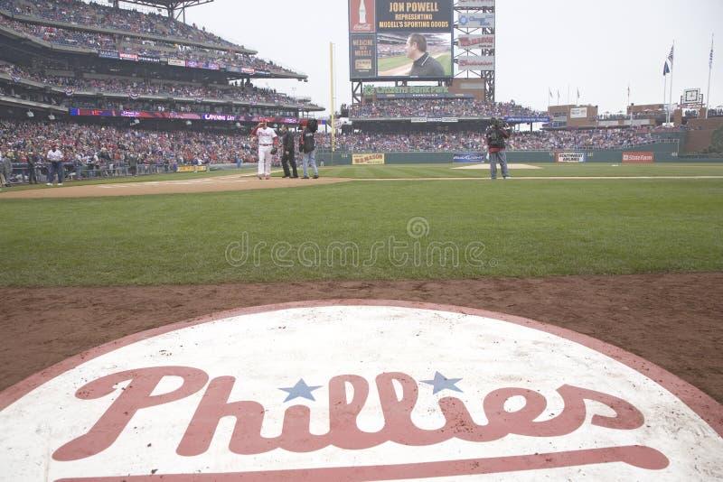 Philadelphia Phillies baseball logo royalty free stock photo