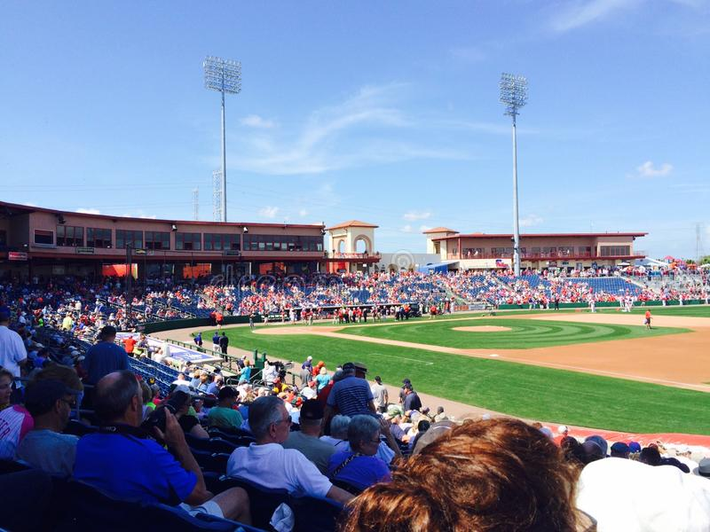 Philadelphia Phillies Clearwater Florida Preseason Baseball stock image