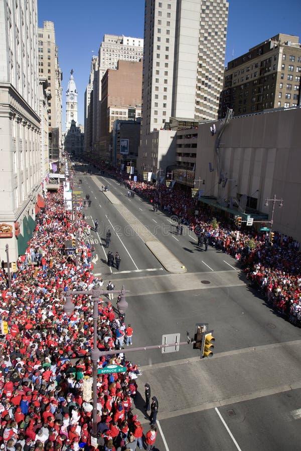 Philadelphia Phillies fans stock photos