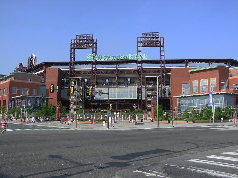 Philadelphia Phillies - het Park van de Bank van Burgers stock fotografie