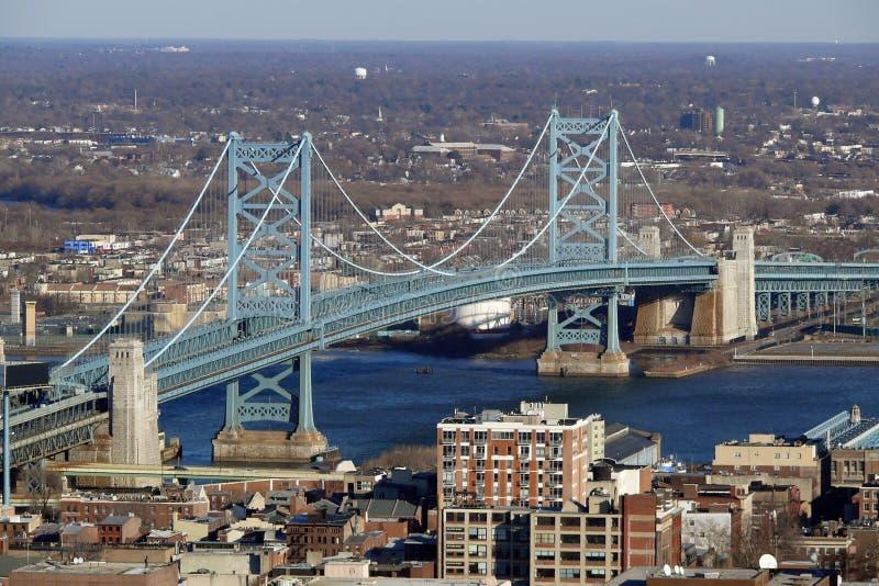 Download Philadelphia's Ben Franklin Bridge Stock Images - Image: 14360844