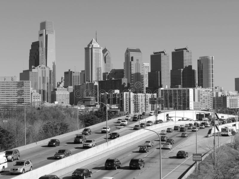 Download Philadelphia Skyline Black And White Editorial Stock Image - Image: 39850824