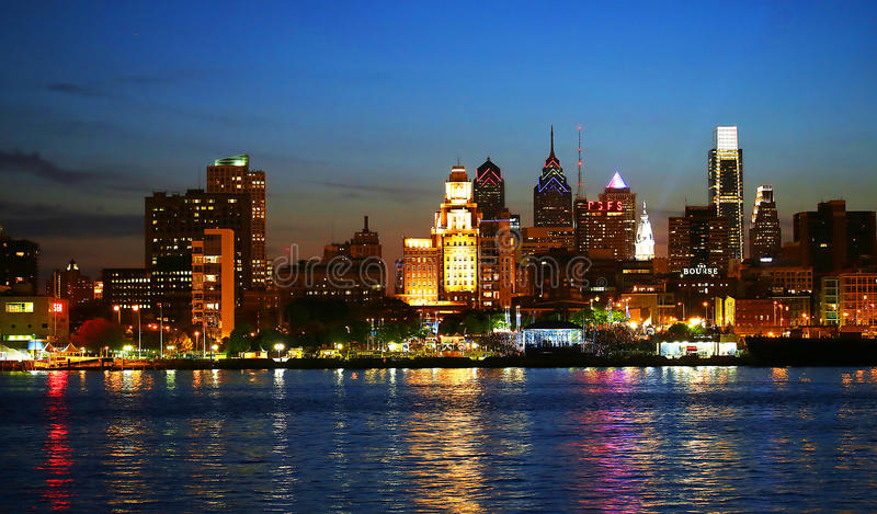 Philadelphia Skyline stock photography