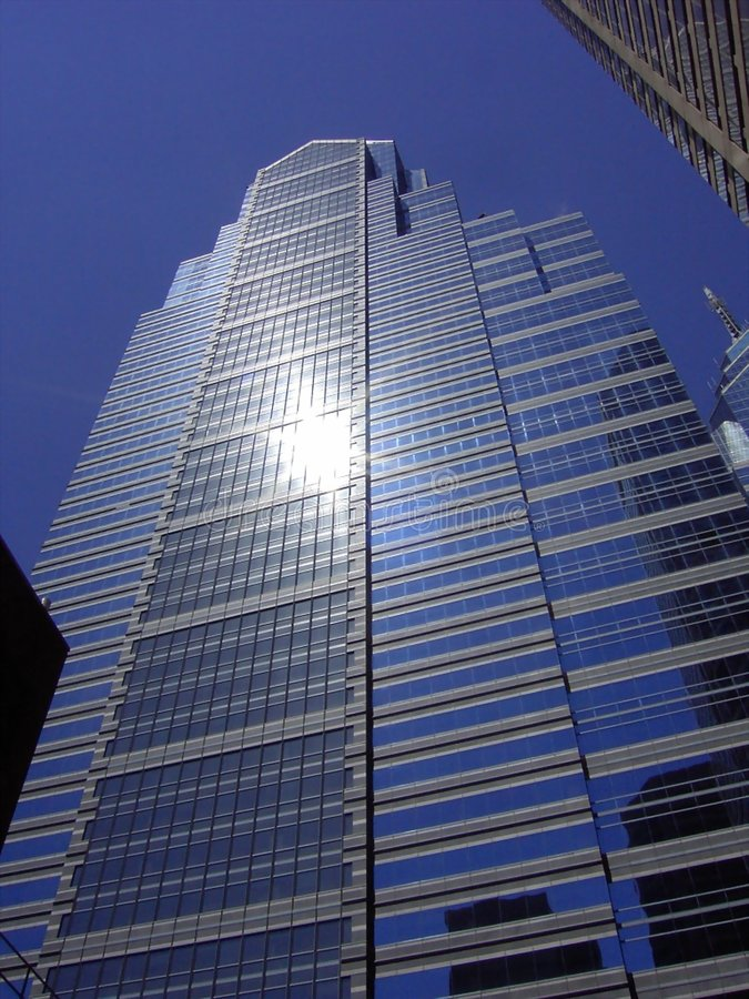Philadelphia skyscraper royalty free stock photo