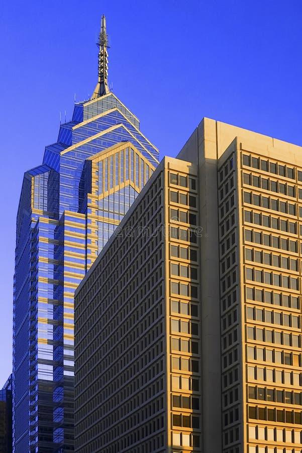 philadelphia skyskrapor arkivfoto