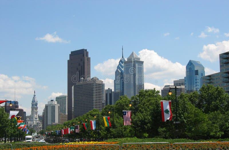Philadelphie, 02 du centre images libres de droits