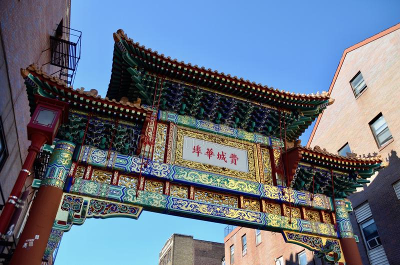Philadelphie Chinatown images stock