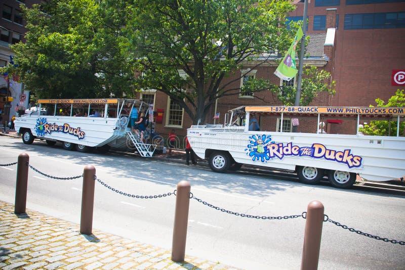 Philadelphie : Duck Boat Tours images stock