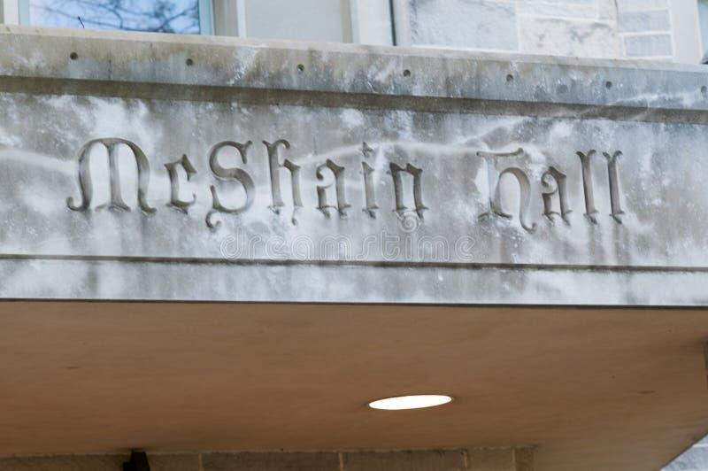 PHILADELPHIE, PA - 17 MAI : Campus universitaire du ` s de Saint Joseph le jour le 17 mai 2014 image libre de droits
