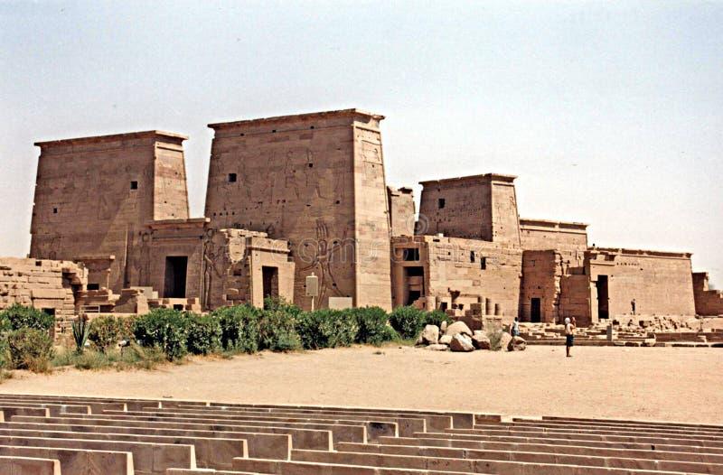 Philae świątynia zdjęcie stock