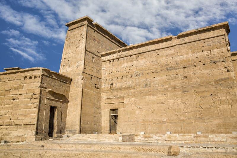 Philae świątynia fotografia stock