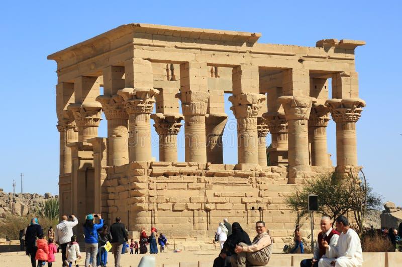 Philae świątynia obraz royalty free