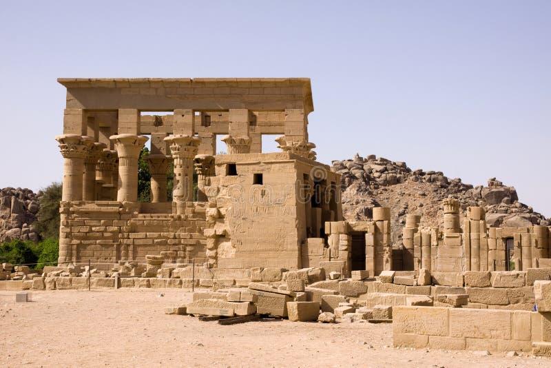 philae świątynni zdjęcie stock