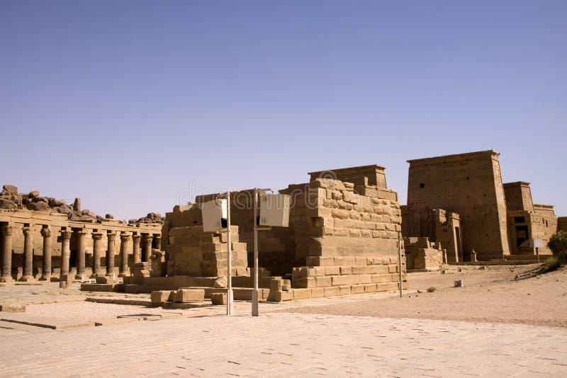 philae świątynni zdjęcia stock