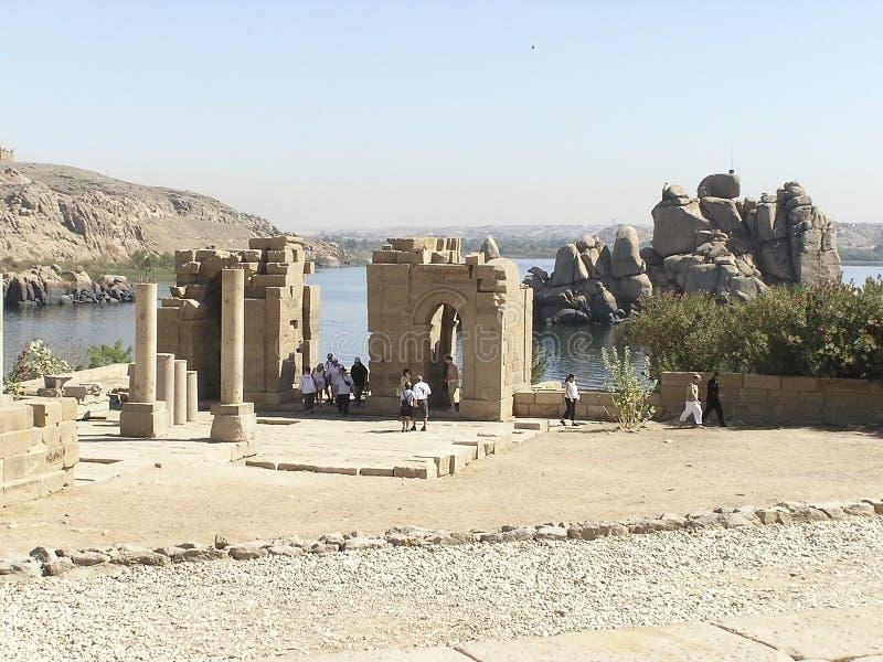 Philae Tempel - Ägypten Stockbilder