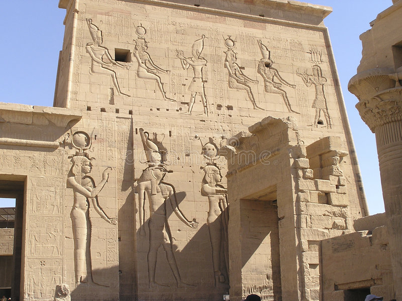 Philae Temples - Egypt royalty free stock photography