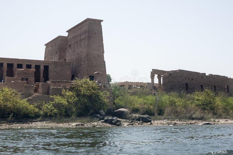 Philaetempel stock afbeeldingen