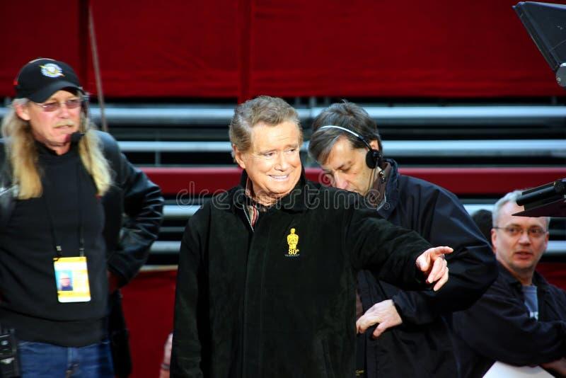 philbin regis oscar хозяина премии Американской киноакадемии стоковые изображения rf
