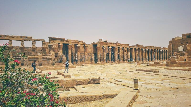 Philea寺庙在阿斯旺 免版税图库摄影
