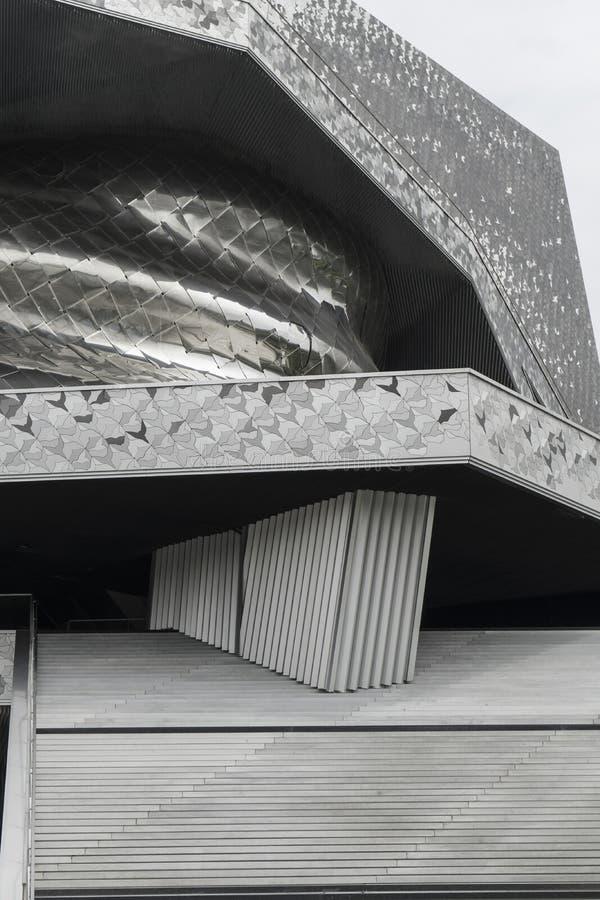 Philharmonie de Parigi immagini stock