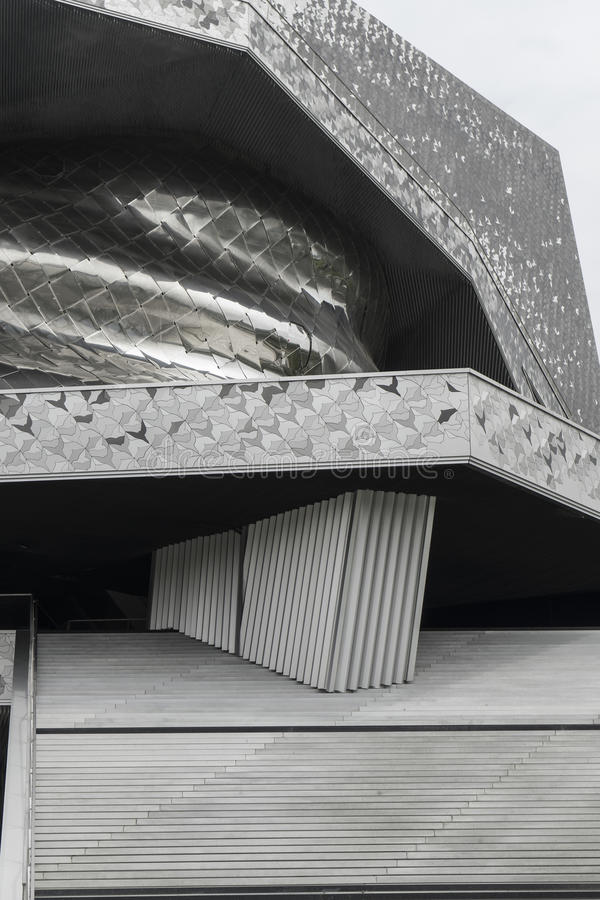 Philharmonie De Paris images stock
